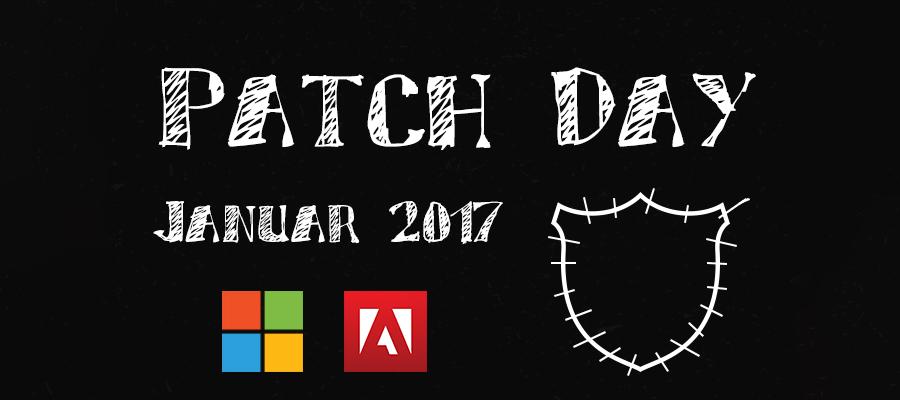 Die Sicherheitsupdates bei Adobe & Microsoft am ersten Patchday des Jahres